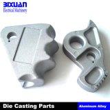 Части заливки формы, части алюминиевой отливки