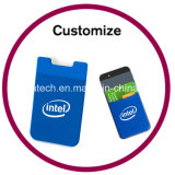 Изготовленный на заказ карманн карточки телефона силиконовой резины франтовское