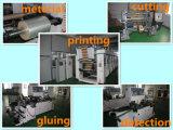 Het hete Etiket van de Sticker BOPP van de Lijm van de Smelting Zelfklevende voor de Verpakking van de Fles
