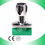 Válvula de parada de PPR para la cena del agua