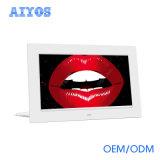 """7 """" LCD Spieler für das Bekanntmachen der Bildschirmanzeige auf vollem HD Monitor des Tisch-"""