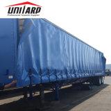 Coperchio resistente della tela incatramata della fibra della tenda del lato del camion della tela incatramata del PVC 900GSM