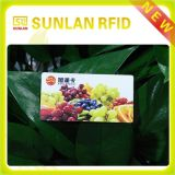 Scheda senza contatto del PVC NFC di ISO14443A 13.56MHz con stampa di marchio
