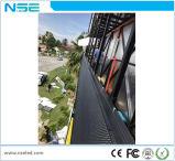 Visualizzazione esterna della parete di SMD3535 P5 P6 P8 LED video