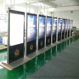 ディスプレイ・モニターを広告するYashi 43inch屋内LCDデジタルの表記