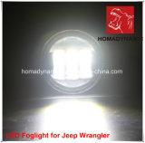 """do """" farol diodo emissor de luz 7 para o Wrangler do jipe, SUV, 4WD, iluminação Offroad do diodo emissor de luz"""