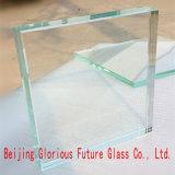 Low-Iron 15mm de alta qualidade de vidro temperado refletora