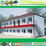Garaje de acero prefabricados edificio de almacenamiento de la tienda de metal con el Servicio de instalación