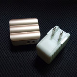2.4A iPhoneのためのUSBケーブルを持つ二重USBの速い携帯電話の充電器