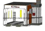 Lámpara de infrarrojos de equipamientos de taller cabina de pintura de coche