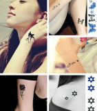Tatouage écologique, tatouage pour femmes, autocollants amusants