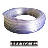 Plastique PVC renforcé de la poudre d'aspiration en spirale de l'eau Durit du tuyau de jardin (TG0105)