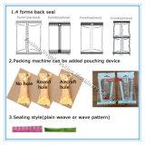 Prix mécanique bon marché de machine à emballer de sachet en plastique de pillule de farine horizontale complètement automatique