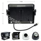 7 Systeem van de Mening van de Auto van de Monitor van het Scherm van de Vierling van de duim het Achter