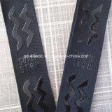 Correa de la bolsa de tela o cinta con el patrón de silicona