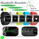 Braccialetto astuto di Bluetooth 4.0 Bluetooth con il video di frequenza cardiaca (X9Plus)