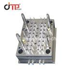 12*100mm - 32 cavités tube à essai médicale d'injection plastique moule avec du matériel PS