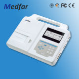 Het 12-kanaal ECG van Medfar mf-Xcm1200 Elektrocardiograaf