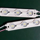 Alto brillo impermeable módulo de inyección de LED para 3-10cm carta de canal