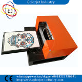 Imprimante faite sur commande d'impression de T-shirt de bonne vente de couleurs de la taille 6 de Cj-L1800t A3