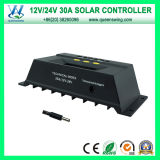 30A 12V/24V Auto Contrôleur de charge solaire PWM (QWP-1430RSL)