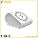무선 비용을 부과 및 전지 효력 무선 힘 은행 충전기를 위한 LED 표시등