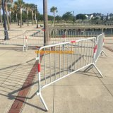 Барьер дороги барьера случая порошка гальванизированный покрытием