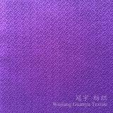 Velours décoratif de polyester de tissu de sofa avec le support de T/C
