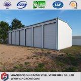 Entrepôt de structure métallique de qualité de coût bas fabriqué en Chine