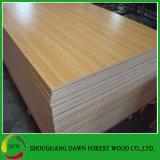 Деревянная переклейка меламина цвета зерна