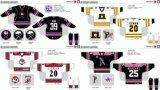 Customized Homens Mulheres Crianças Liga de Hóquei Americana Piratas Portland 2009-2016 Hóquei no Gelo Jersey