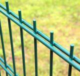порошка проволочной изгороди 8/6/8mm загородка металла провода 6/5/6mm двойного Coated твиновская