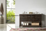 '' freistehende Badezimmer-Eitelkeit MDF-60 mit keramischer Wanne