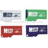 최고 얇은 마이크로 컴퓨터 SD 카드 판독기 (S1A-8011D)