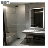 2mm-10mm Clear Copper Free / Silver / Aluminum Bathroom Mirror
