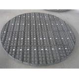 Pantalla hecha punto SS316 inoxidable del separador de partículas del acoplamiento de alambre del acero