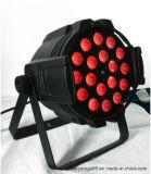 LED PAR64 de 18x10W RGBW 4en1 Iluminación puede lavar a la par de Zoom