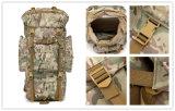 Zaino tattico esterno del camuffamento del sacchetto di campo di alpinismo 65L del pacchetto