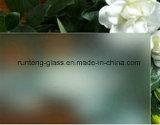 o ácido de 6mm 8mm gravou vidro de vidro/geado/vidro profundamente ácido de Ethed