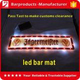 La barra de LED barra de leds de PVC de alfombra, alfombra, alfombra de la cerveza de la barra de luz LED