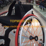 Leistungsfähiger manueller Basketall Sport-Aluminium-Rollstuhl