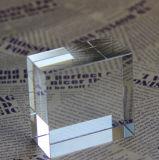 Insignia cristalina de encargo del grabado del laser del cubo 3D (KS11028)
