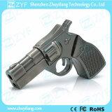 Azionamento dell'istantaneo del USB di figura della pistola della pistola del metallo (ZYF1197)