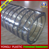 ISO9001 de alambre de acero flexible de PVC transparente flexible