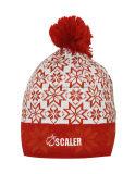 Chapeau/chapeau tricotés acryliques chauds de crâne de Beanie de l'hiver promotionnel