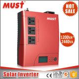 小さいホーム太陽インバーター充電器1200va 2400vaを決め付けなければならない
