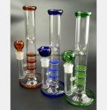 Kanon Drie van de Rook van het Water van het glas - Waterpijp van de Filter van de Kleur van de Laag de Cellulaire