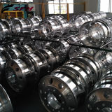 Rotella di alluminio forgiata 22.5X8.25/rotella di alluminio polacca forgiata 22.5X9.00 &24.5X8.25 del camion del camion