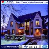Casa de aço da casa de campo da boa luz móvel barata do projeto