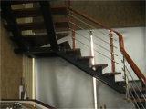 Fabriqué en Chine Protection de l'environnement Escalier en acier massif en acier